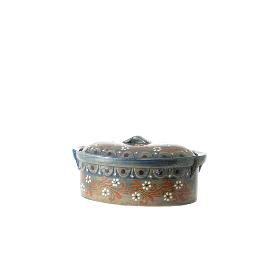 Baeckeoffe Terrine Large Quot Brush P2 Quot Pottery