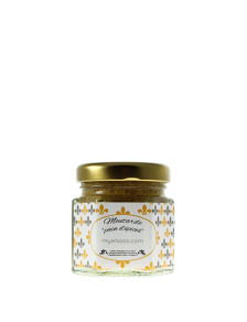 Mustard with gingerbread spice from Alsace