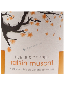 BIO Muscat grape juice from Alsace
