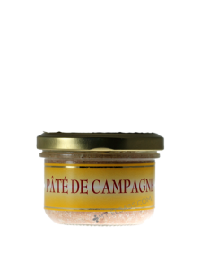 Canned farmhouse pâté from Alsace
