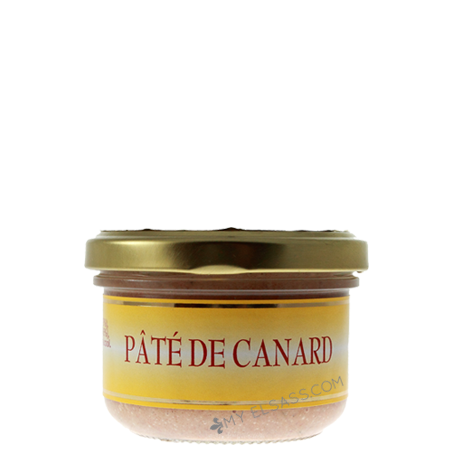 Duck pâté from Alsace