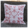"Handmade cross-stitch pillow cover ""Design D"", Alsace"