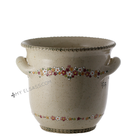 "Champagne bucket ""Liberty"" - pottery Graessel, Alsace"