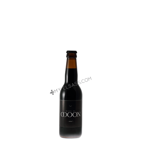 Handmade stout beer, Moon, Alsace