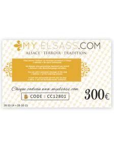 My Elsass gift card 300€