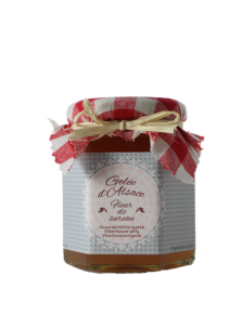 Handmade elderflower jelly, Alsace