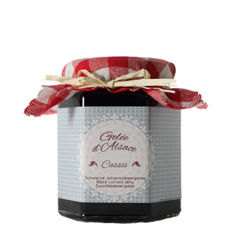 Black currant jelly, Alsace