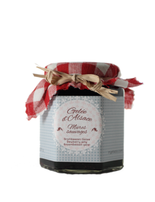 Handmade dewberry jelly, Alsace