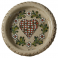 "Wine bottle coaster ""Kelsch"" - pottery Graessel, Alsace"