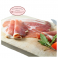 Raw smoked ham from Alsace