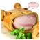 Ham in pastry crust from Alsace