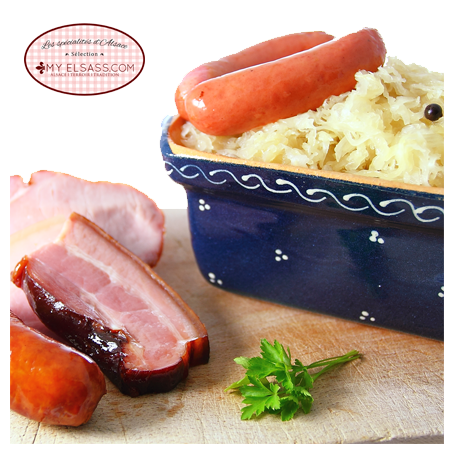 Alsatian sauerkraut kit, for 2 people