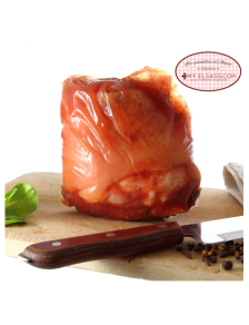 Salted ham hock from Alsace, cooked