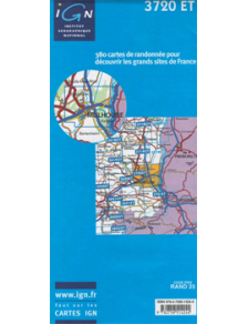 Hiking map France - Alsace - Mulhouse - 3720ET