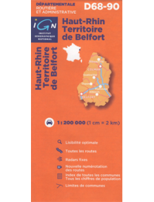 Travel road map France Alsace Lorraine 2012