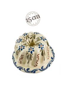 "Mini kougelhopf mould ""Design 4"" - Soufflenheim Alsace"