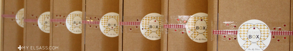 """Elsass BOX"", the gift box from Alsace"