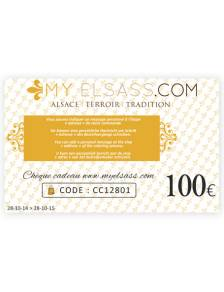 My Elsass gift card 100€