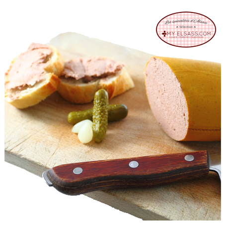 Liver sausage from Alsace